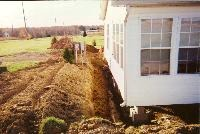 Modular home foundation prep